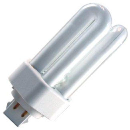 13 watt very warm white turn low energy 4 pin fluorescent light bulb. Black Bedroom Furniture Sets. Home Design Ideas