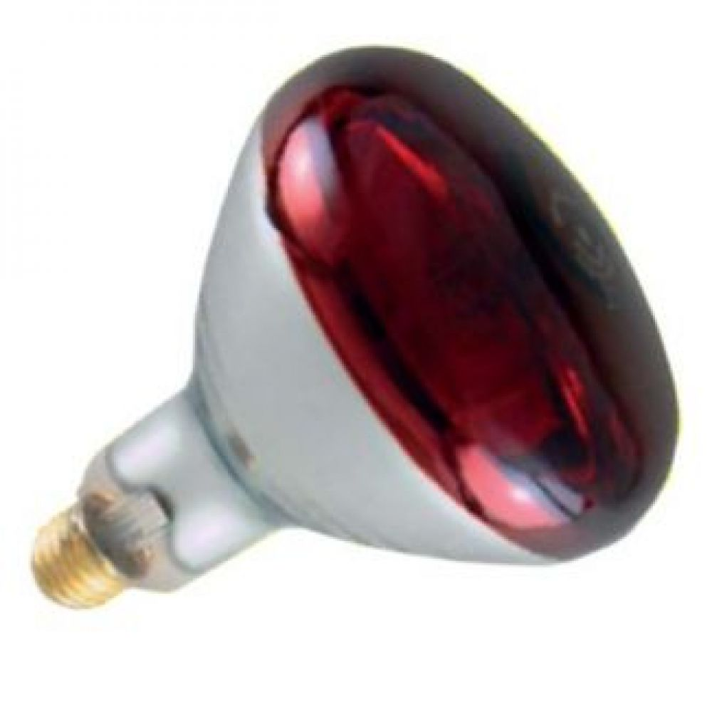 250 Watt Red Hard Glass Infra Red Reflector