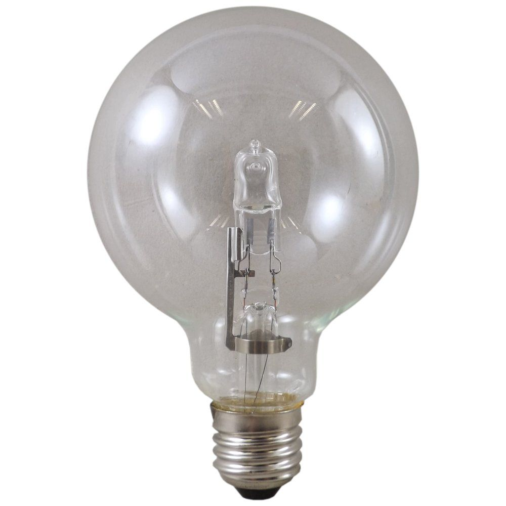 95mm 18 Watt Es E27mm Clear Globe Light Bulb