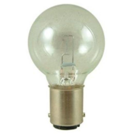 light bulbs search a4 12 volt 24 watt ba15d miniature clear light bulb. Black Bedroom Furniture Sets. Home Design Ideas