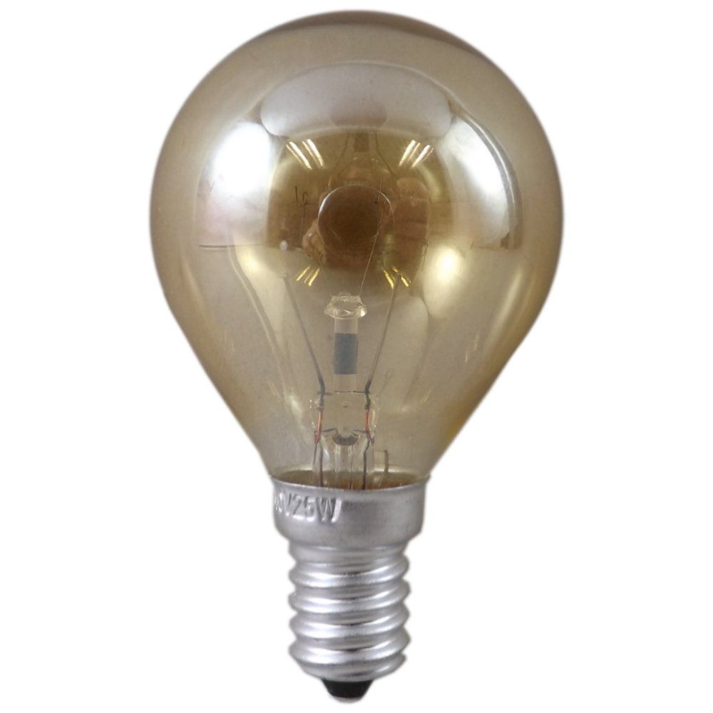25 Watt Ses E14mm Crown Gold Light Bulb