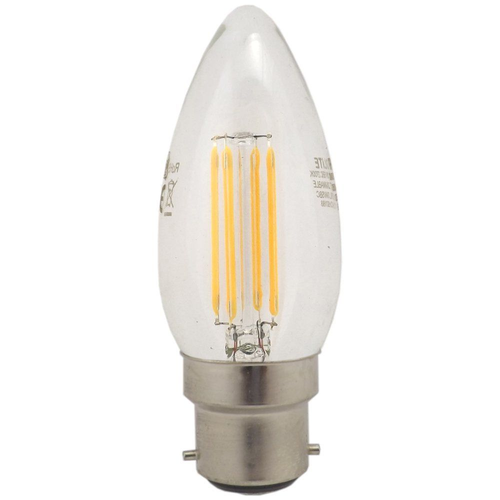 Prolite 3 Watt Bc B22mm Dimmable Led Filament Candle