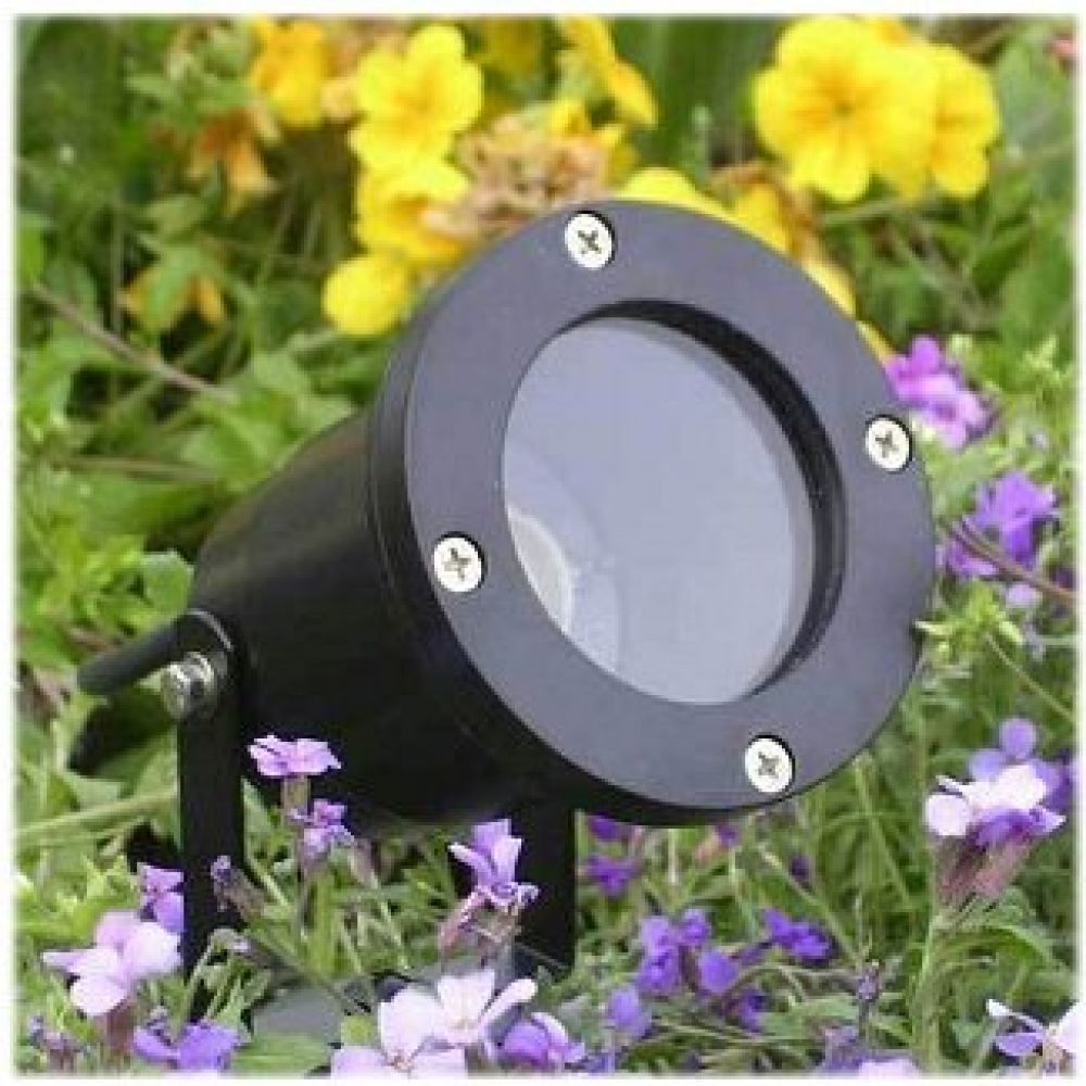 Deltech DL-GL01 Black IP54 Rated Garden Spike Light Fitting