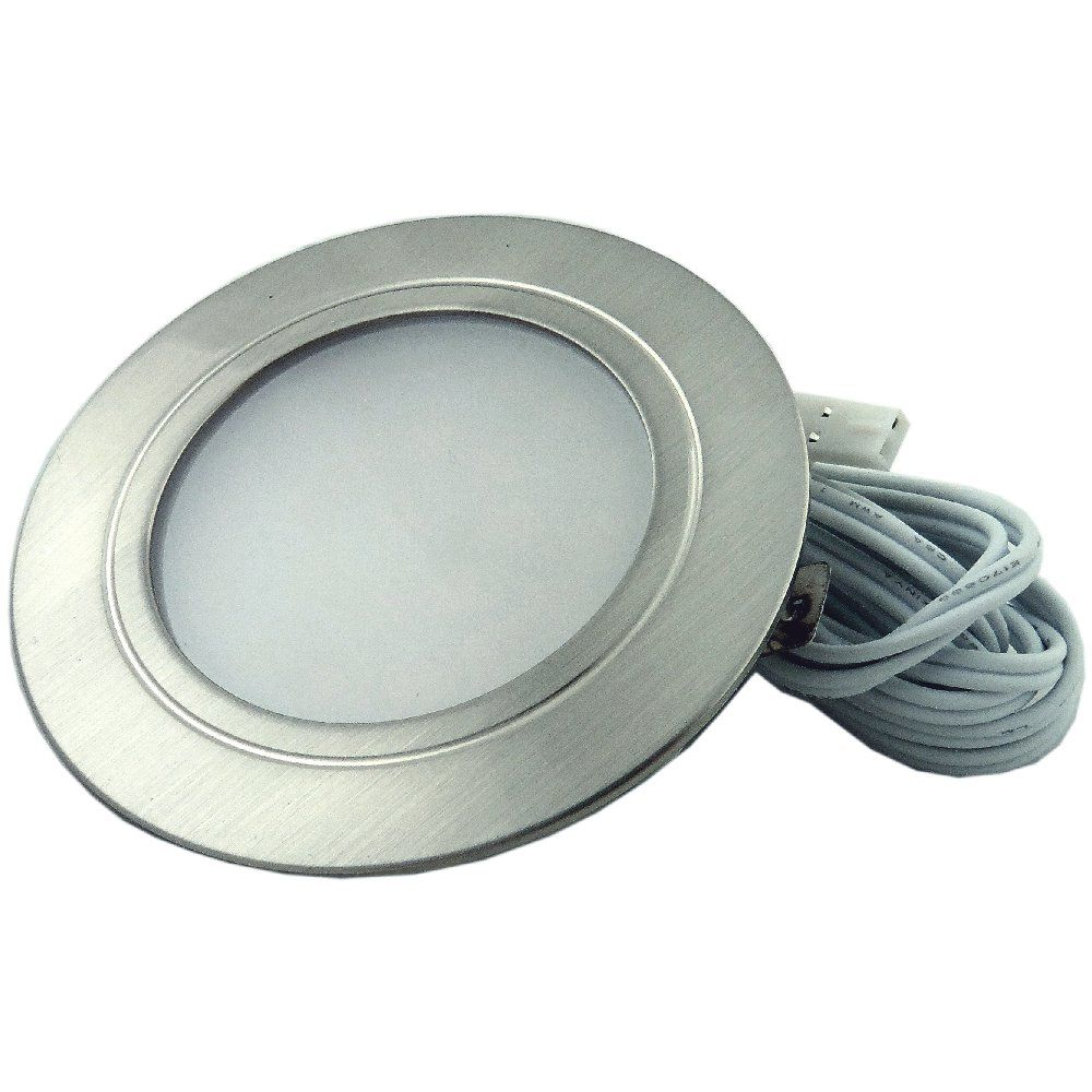 White Led Recessed Stainless Steel Under Cabinet Light