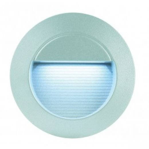 Round Led Exterior Wall Lights : Round White LED Wall Light - IP65 Rated