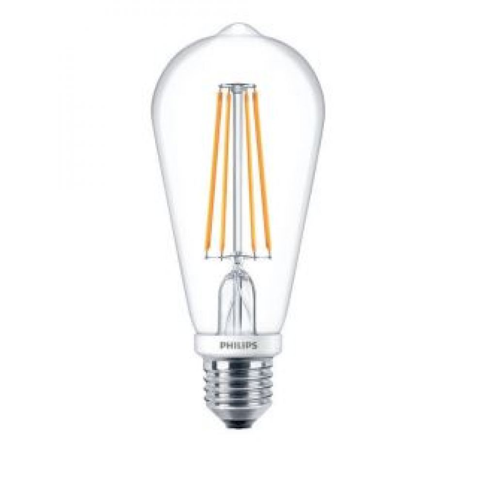 philips 57569700 7 watt st64 vintage dimmable led lamp 2700k