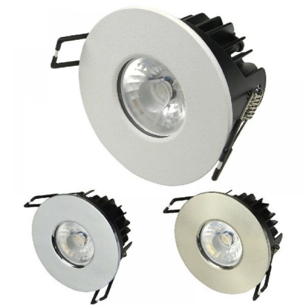 10 watt dimmable intergrated led downlight with 3 bezels colour leds. Black Bedroom Furniture Sets. Home Design Ideas