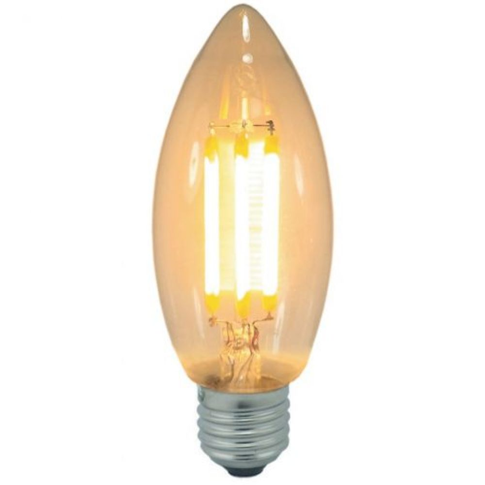 3 watt es e27mm decorative antique filament led candle bulb. Black Bedroom Furniture Sets. Home Design Ideas