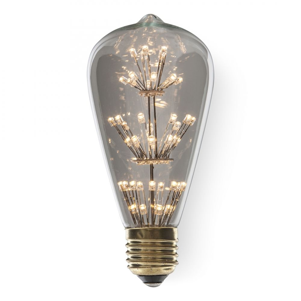 1 3 Watt Es E27mm Rustic Decorative Classic Antique Led Light Bulb