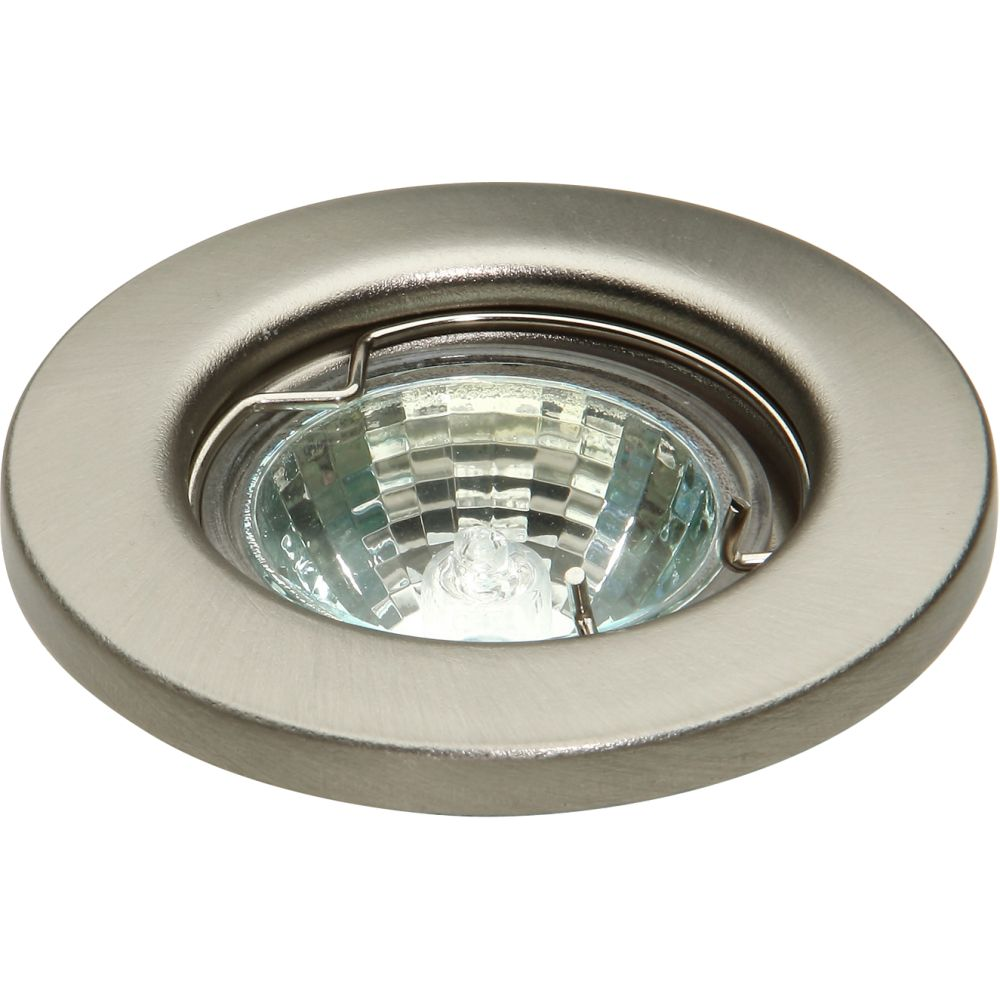 12 Volt Mr11 35mm Brushed Chrome Fixed Downlight