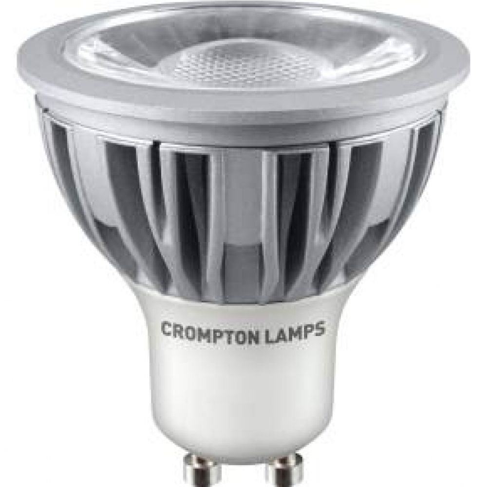 bulbs search crompton lgu105dlcob 5 watt gu10 led light bulb daylight. Black Bedroom Furniture Sets. Home Design Ideas