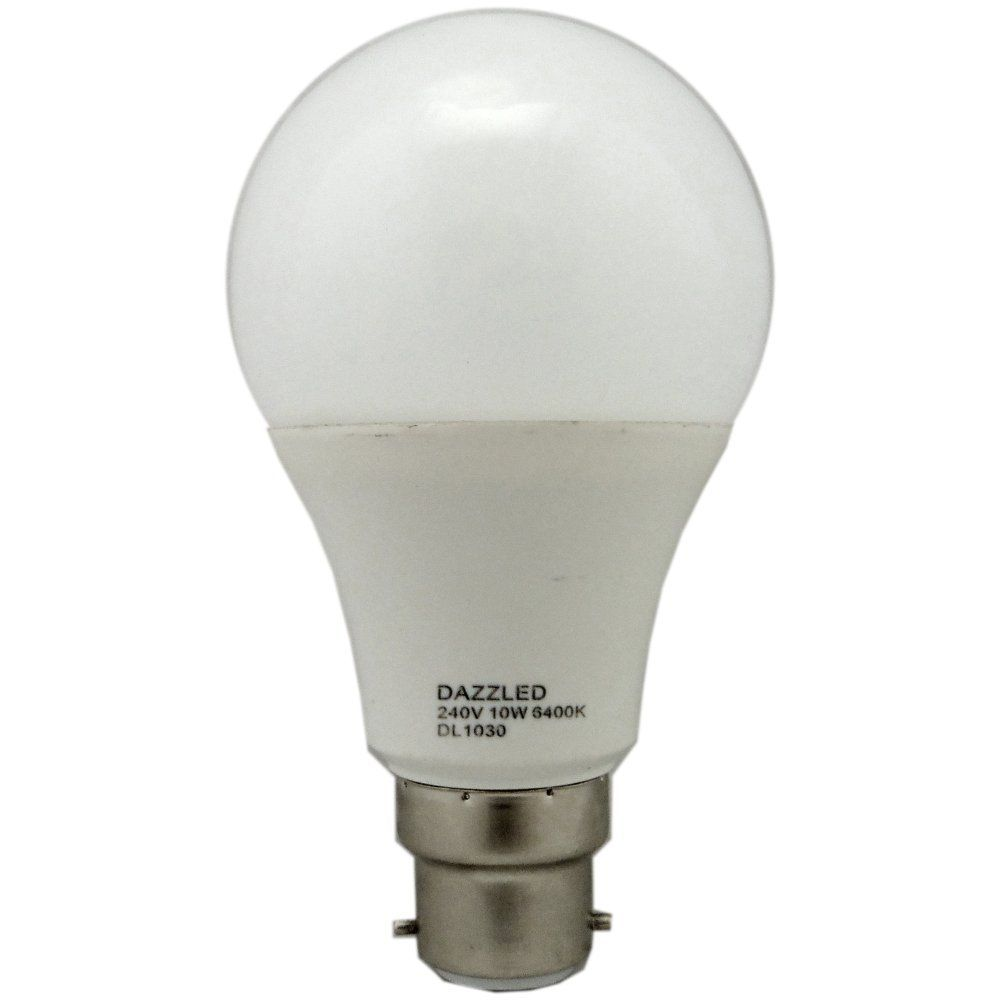 led light bulbs search 10 watt bc b22mm opal daylight gls led light. Black Bedroom Furniture Sets. Home Design Ideas