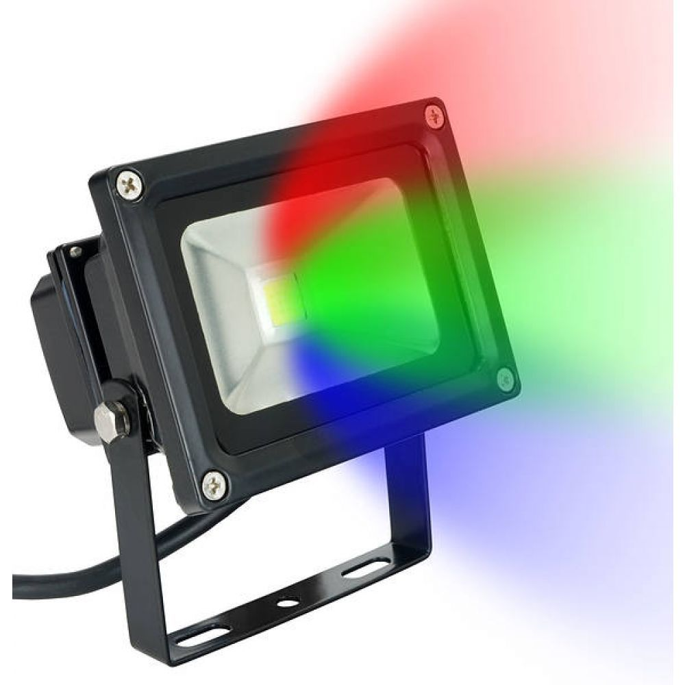 10 Watt Colour Changing Led Flood Light Amp Remote
