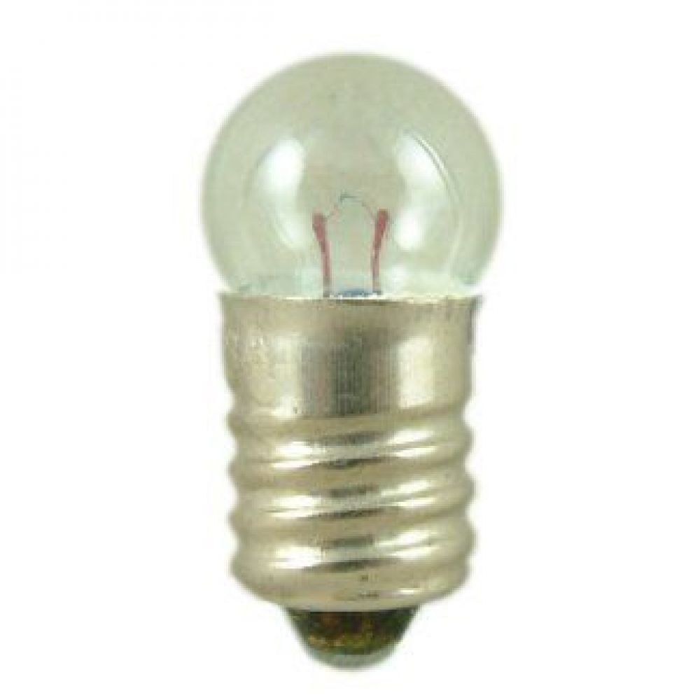Round mes e10mm type 6 0 volt 3amp miniature lamp Mini bulbs
