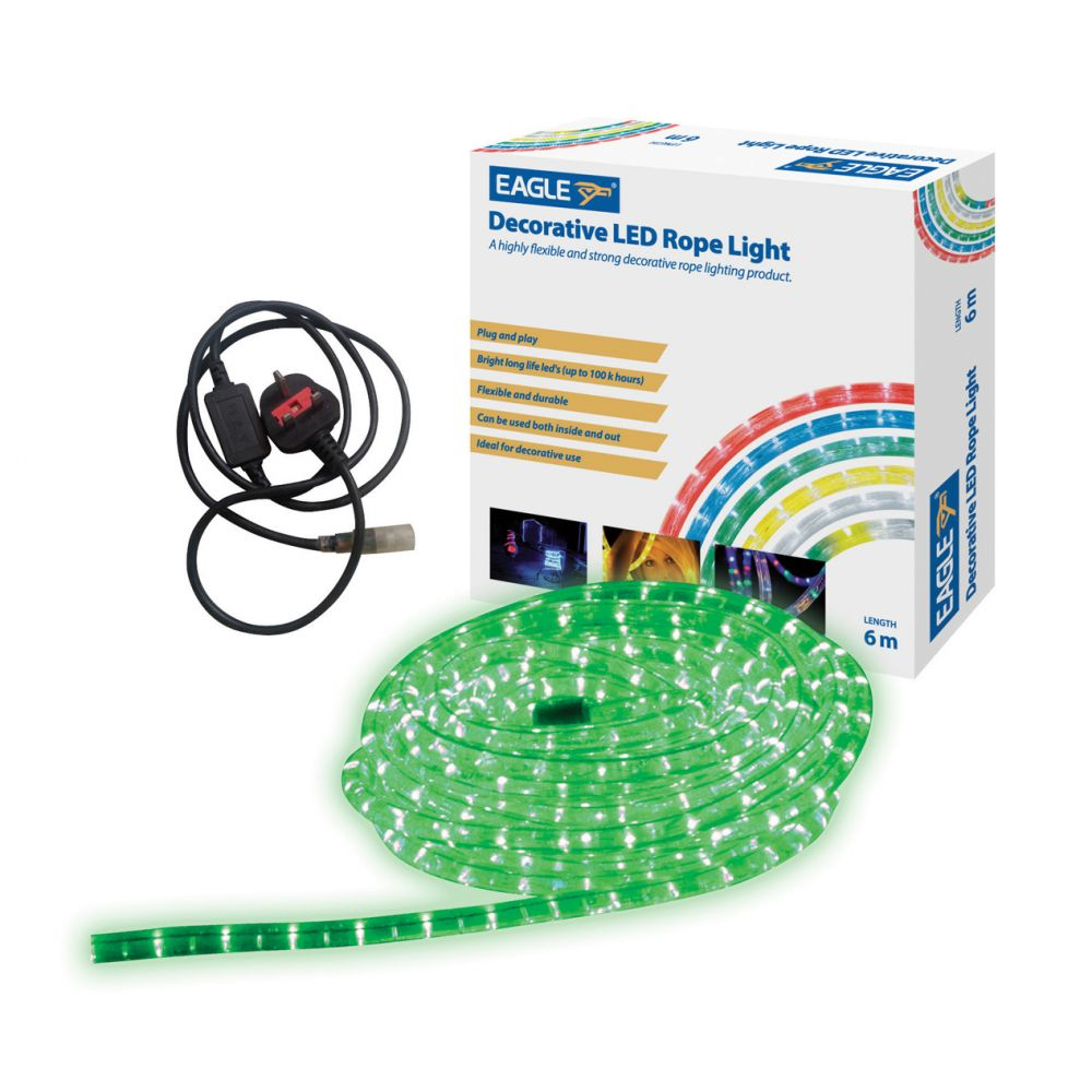 lighting led rope lights search 45 metre indoor and outdoor green led