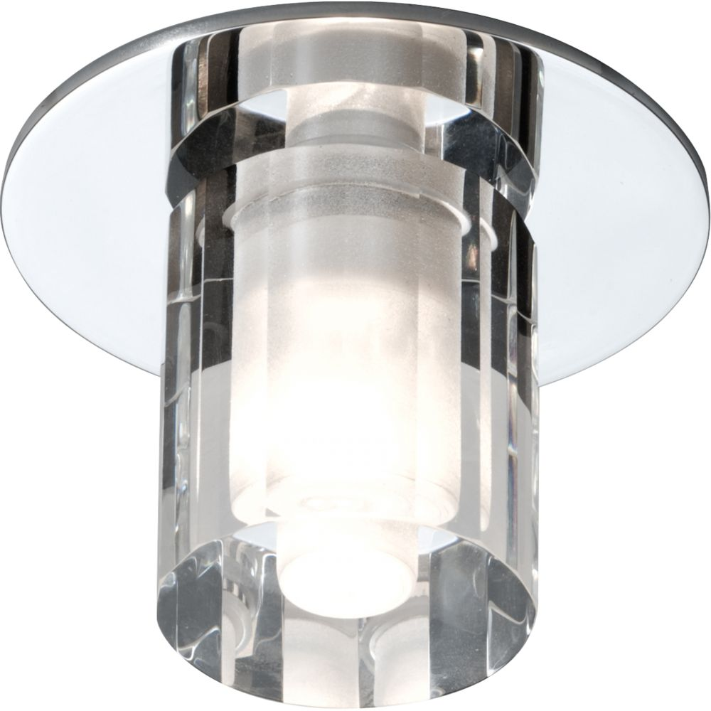 Bathroom Light Fittings ip65 rated low voltage decorative round glass bathroom fitting