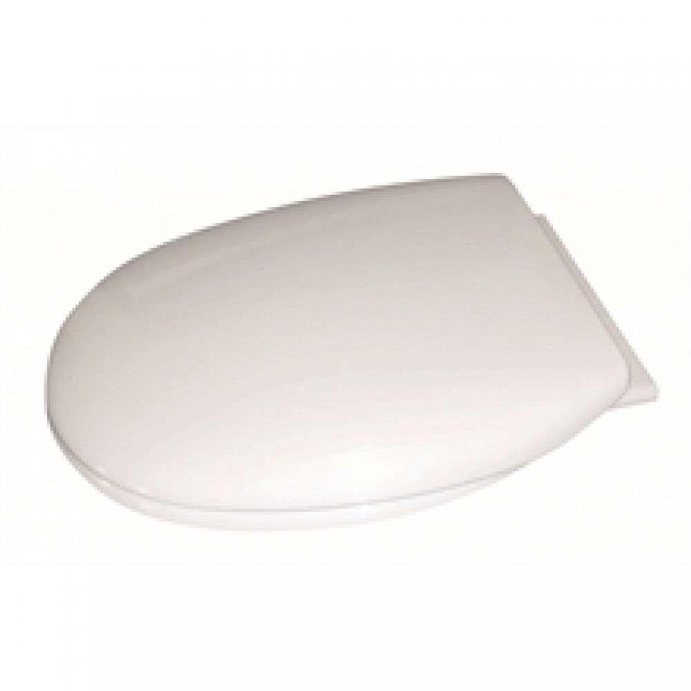 Cavalier Thermoplastic White Slow Close Toilet Seat