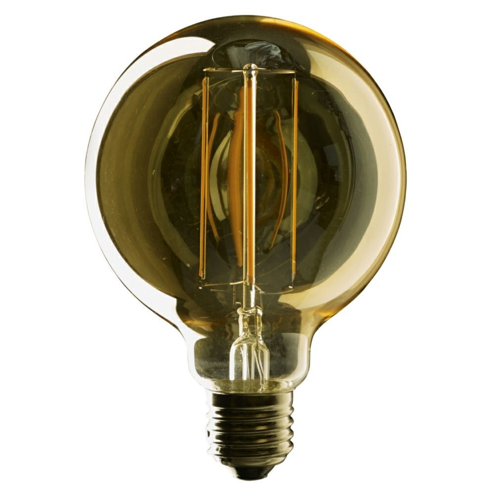 eton 2 watt es e27mm vintage g95mm led filament globe bulb. Black Bedroom Furniture Sets. Home Design Ideas