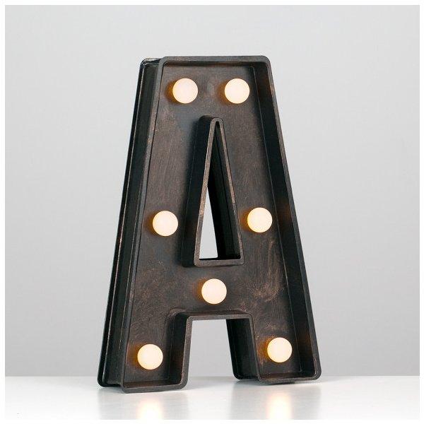 Alphabet Light Up Letters