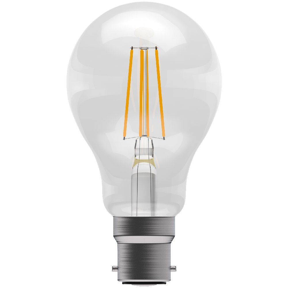 Bell 05016 4 Watt BC Clear Filament LED GLS Bulb