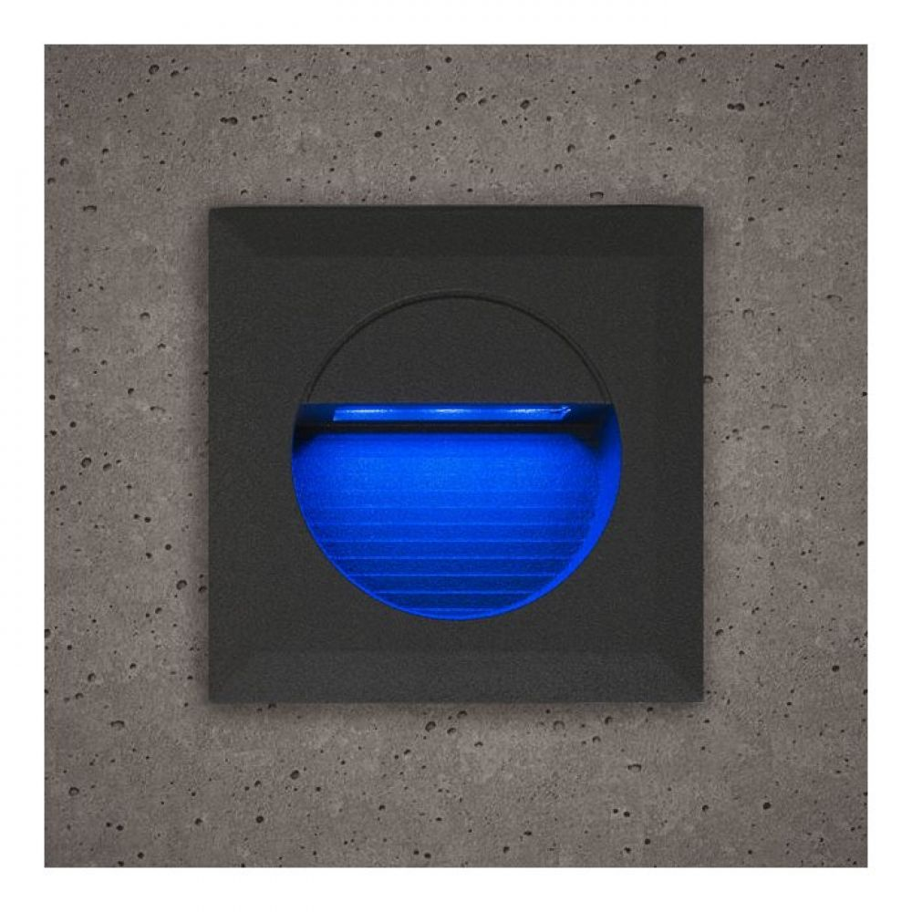 Astro Grey Square Guide Light With Blue LED Light