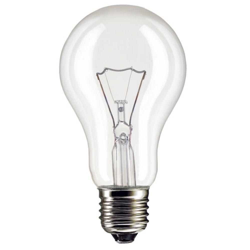 High Powered 200 Watt 240 Volt Es E27mm Clear Gls Light Bulb