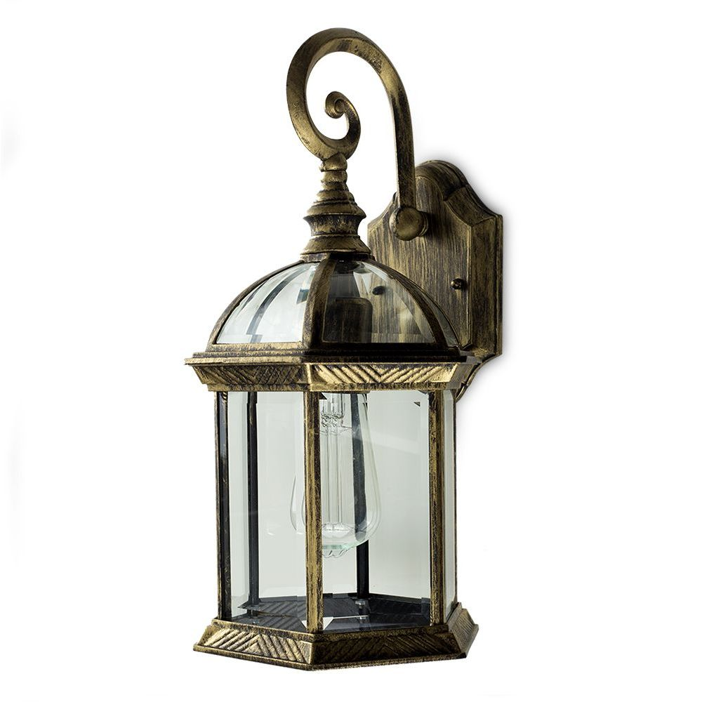 Headingley IP23 Black Gold Lantern