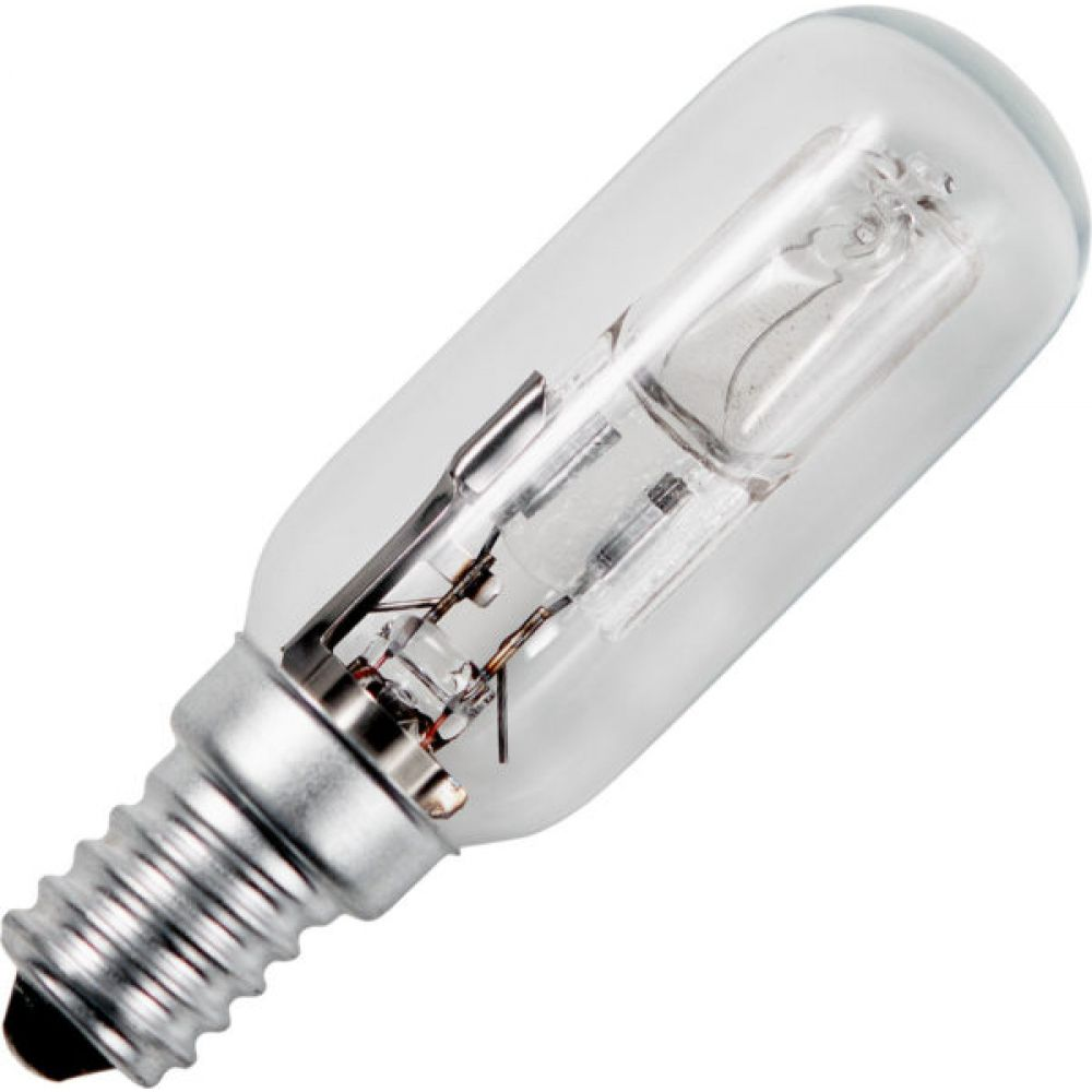 28 watt SES-E14mm Halogen Cooker Hood Replacement Light Bulb T25x75mm