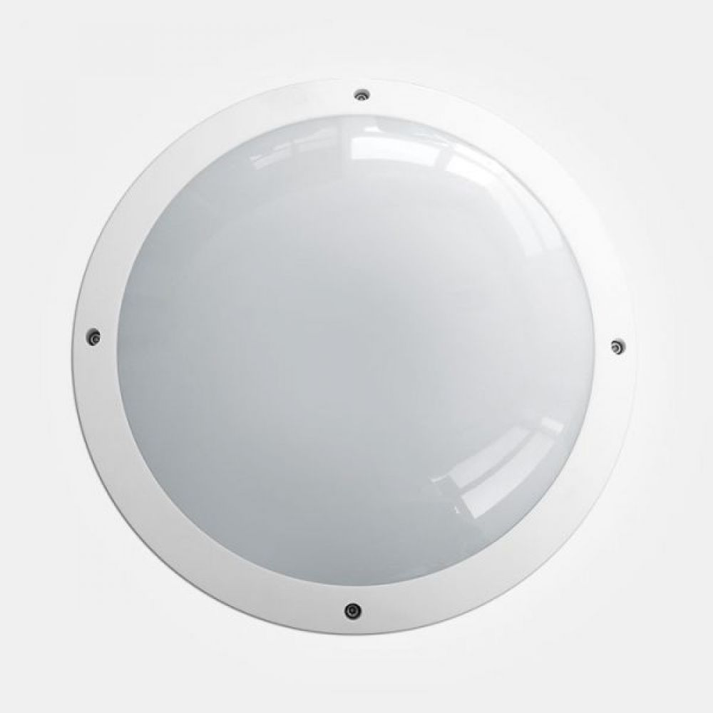 Eterna ALSTDWHFUL 18 watt White Outdoor LED Bulkhead