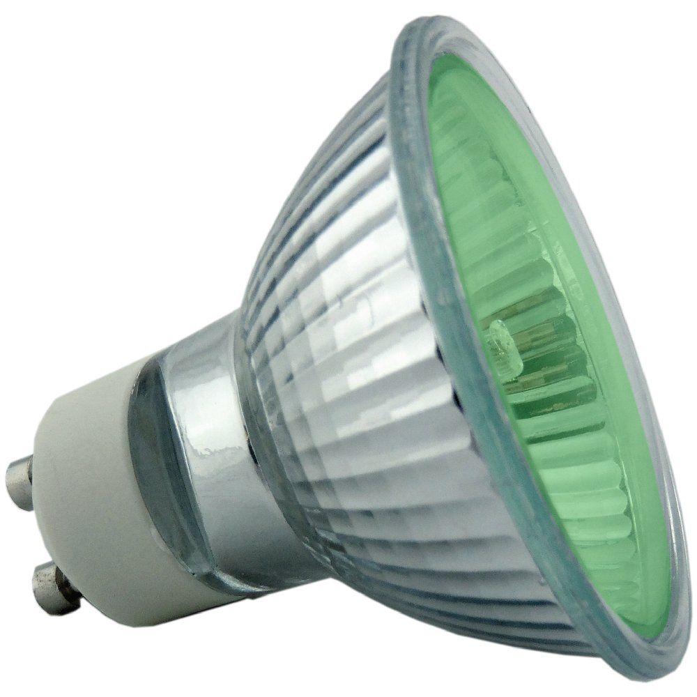 50 Watt Green Gu10 Halogen Light Bulb Click Image To Zoom