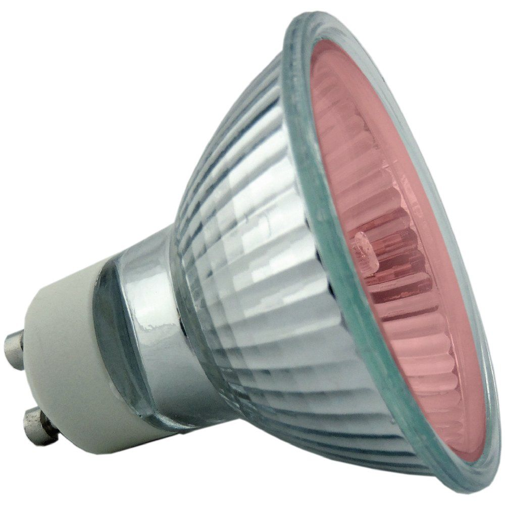 50 watt Red GU10 Halogen Light Bulb