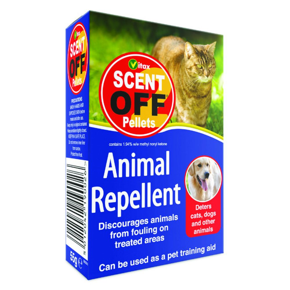 55g Scent Off Pellets - Outdoor Animal Fouling Control