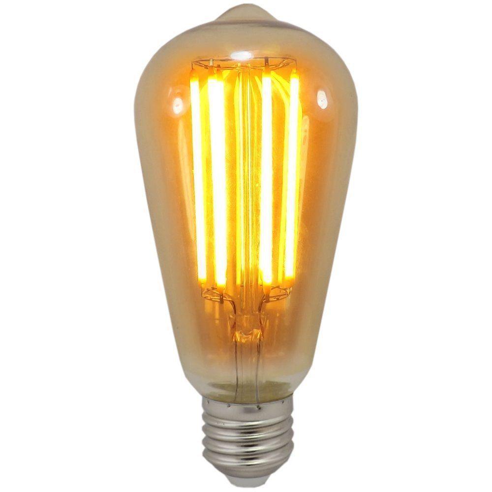 Decorative Lamps: 6 Watt ST64 ES-E27mm Decorative Dimmable Antique Lantern