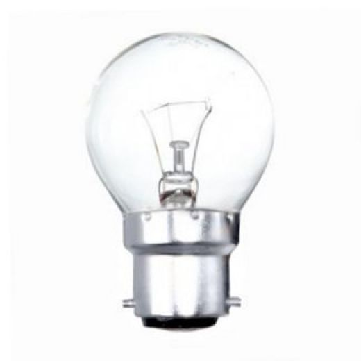 25 watt BC-B22mm Incandescent Clear Golfball Light Bulb