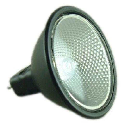 BLV 103151 12 volt 35 watt MR16 Black Aluminium Backed Halogen Lamp