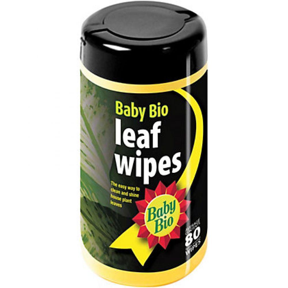 Baby Bio Leaf Wipes 80 Wipes