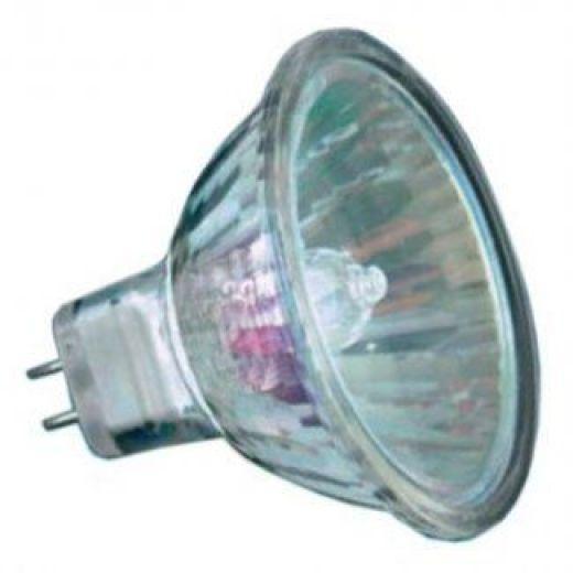 long life 12 volt 50 watt 50mm mr16 halogen dichroic light bulb