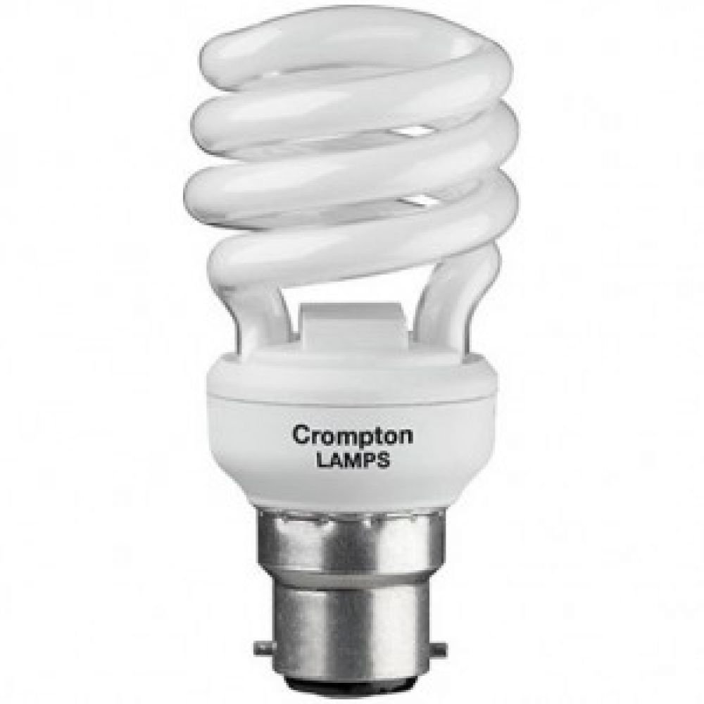 5 watt BC-B22 Micro Spiral Energy Saving Light Bulb