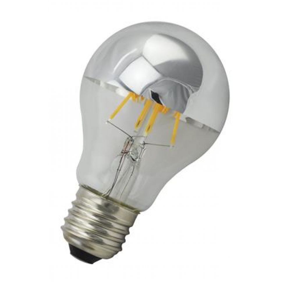 4 watt ES-E27mm Crown Silver GLS LED Light Bulb