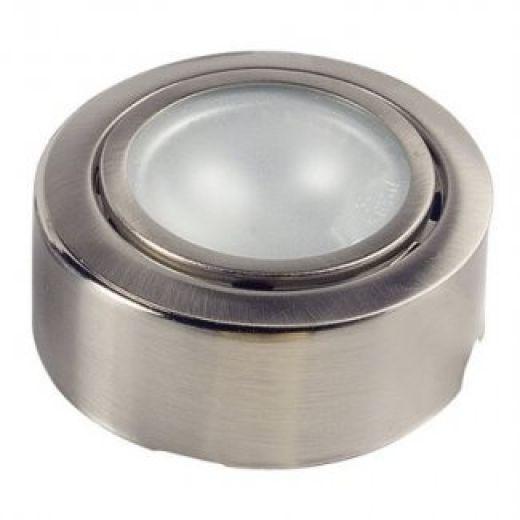 Eterna D042 Brushed Nickel Low Voltage Surface Cabinet Light
