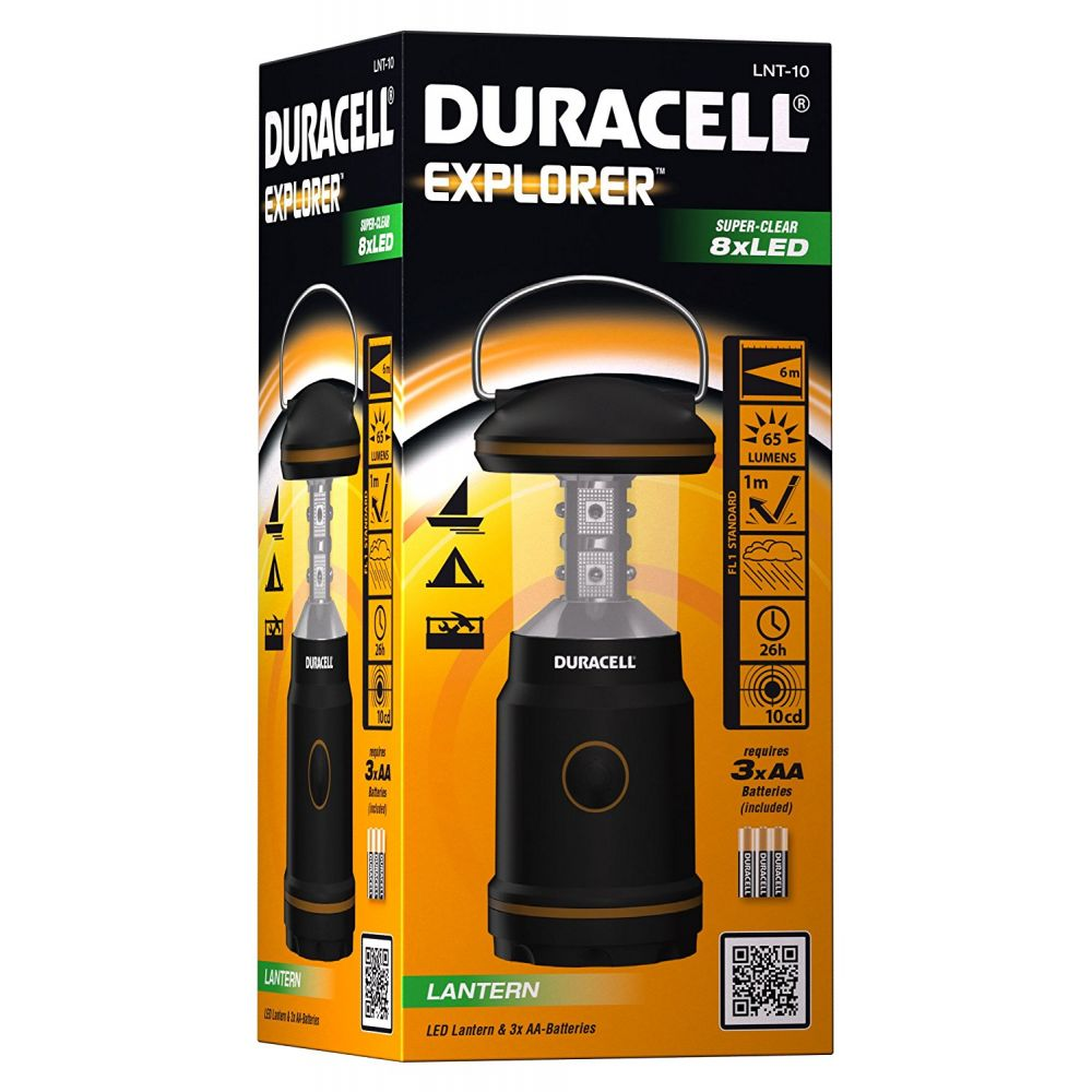 Duracell 8 LED Explorer Lantern with Handle