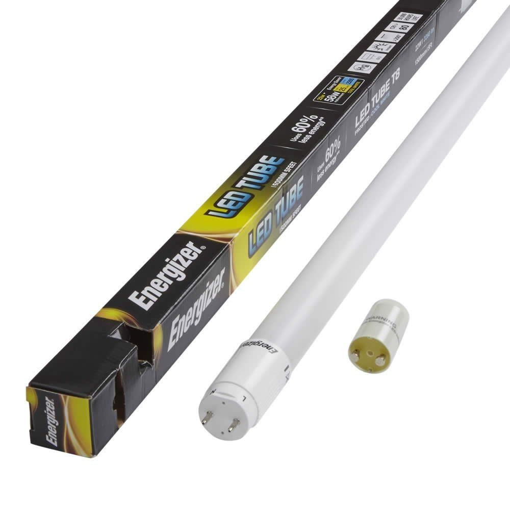 Energizer 4ft T8 18 Watt Cool White LED Tube