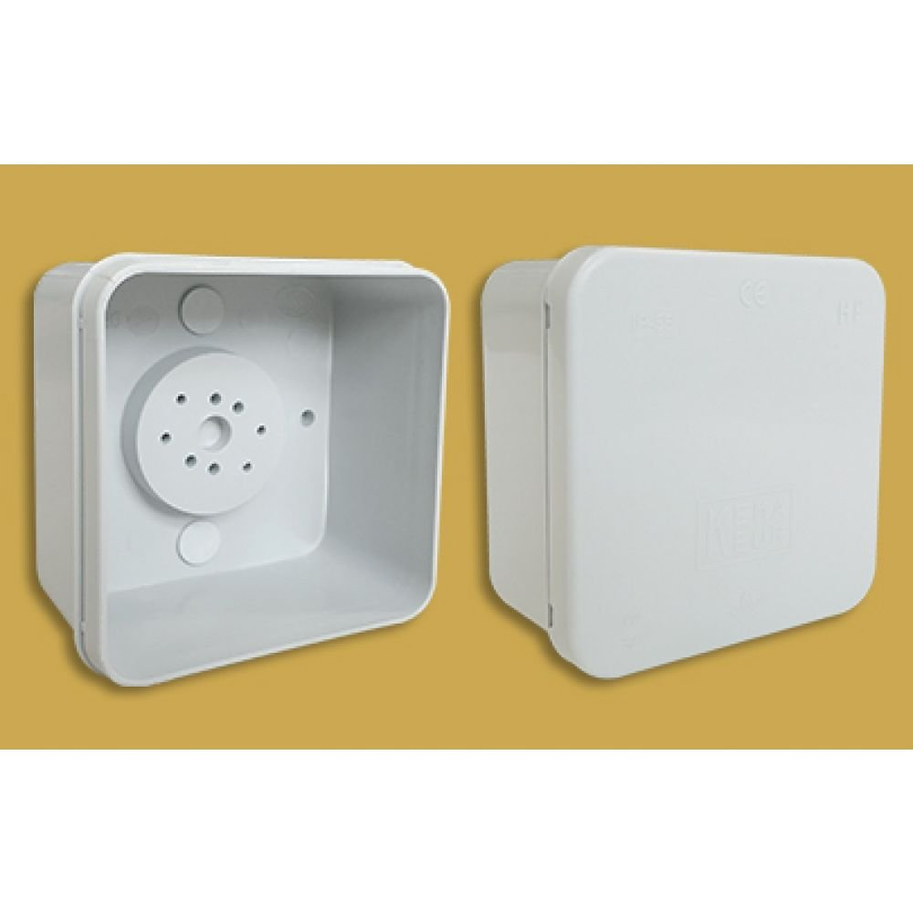 Eterna 220-L White Plastic Waterproof Adaptable Box / Enclosure