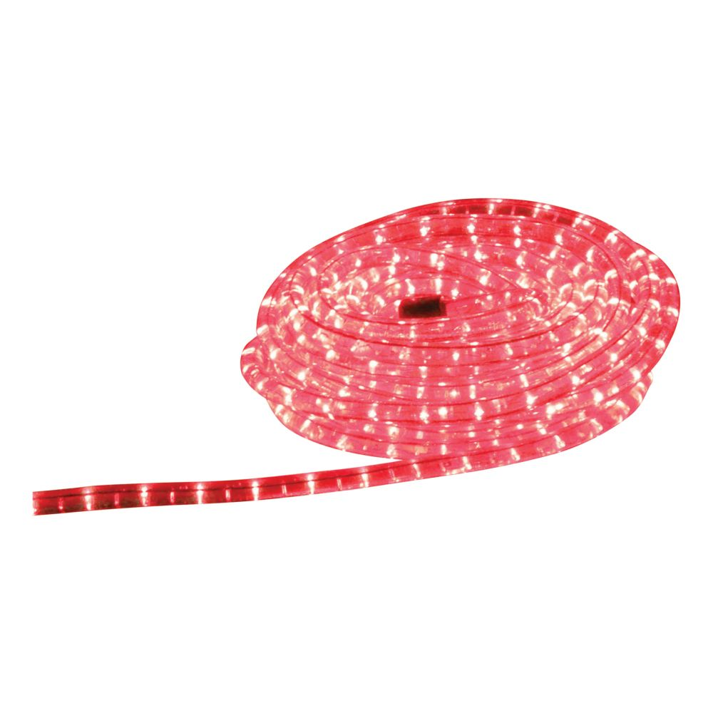 9 Metre Indoor And Outdoor Red Led Rope Light Click Image To Zoom