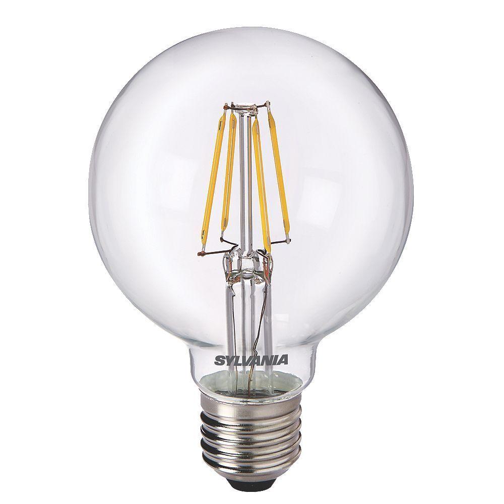 Sylvania 0027173 toledo 5 watt es e27mm g80 led globe for Lampadine led 5 watt