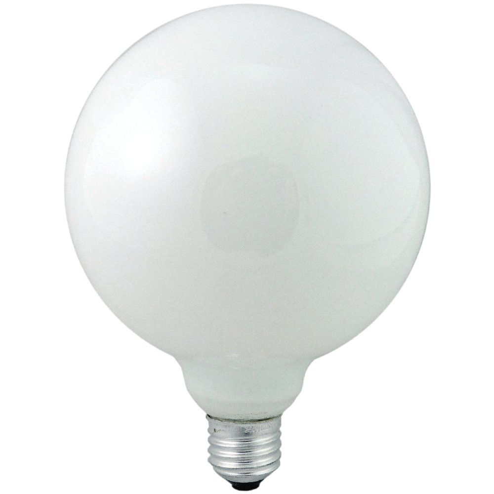 125mm 100 Watt Es E27 Opal Large Globe Light Bulb