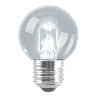 18 watt ES-E27mm Clear Energy Saving Halogen Golf Ball Bulb