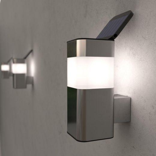 Outdoor solar powered kodiak mini solar wall light ss9935 mozeypictures Choice Image