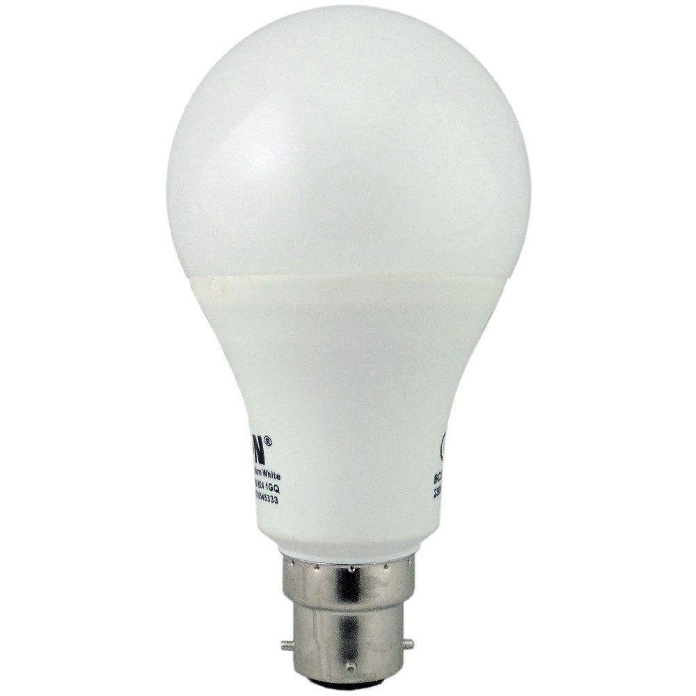 Eaton MEM Lamp BC3-Pin 15 watt Warm White LED GLS Bulb