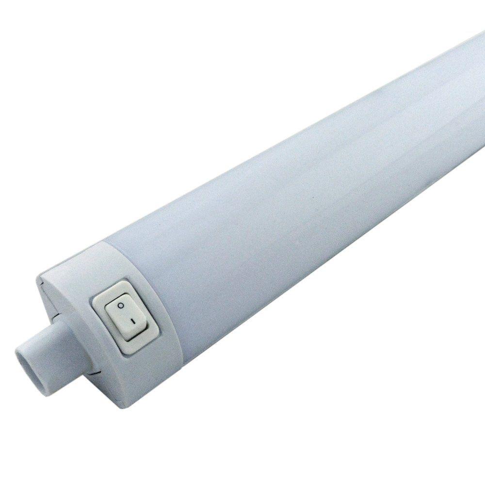 Led 15 Watt 12 Inch Linkable Undercabinet Strip Light: 550mm 8 Watt Linkable White Under Cabinet LED Striplight